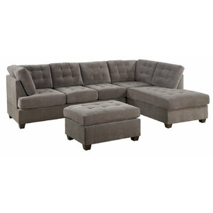 Best Reviews Westerham Reversible Sectional By Ebern Designs