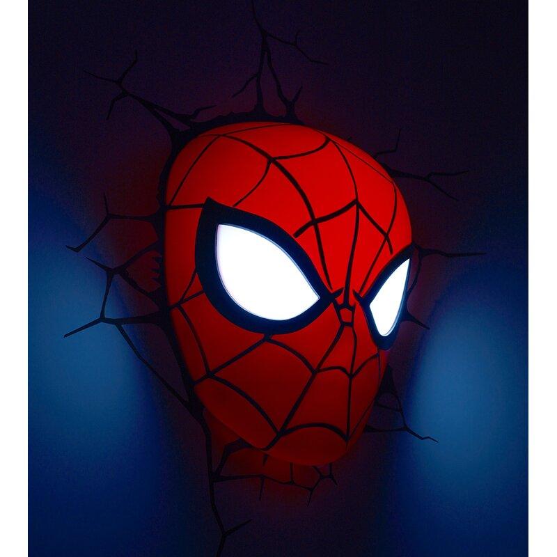 3d Light Fx 3d Spiderman Mask Deco 2 Light Night Light Reviews