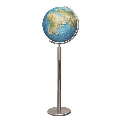 Hannover Duorama Illuminated Floor Globe Columbus Globe