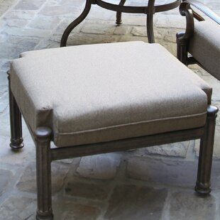 Ottoman with Cushion by Astoria Grand