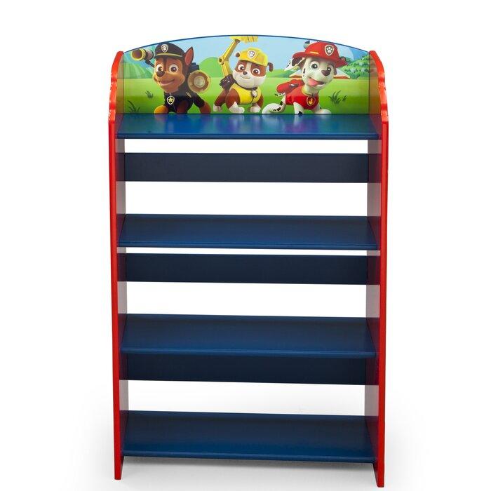 timeless design c720a 8e11c Paw Patrol Children's Bookcase