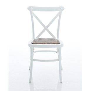 Ivan X-Back Armless Dining Chair (Set of ..