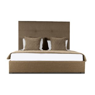 Handley Upholstered Panel Bed by Brayden Studio Bargain