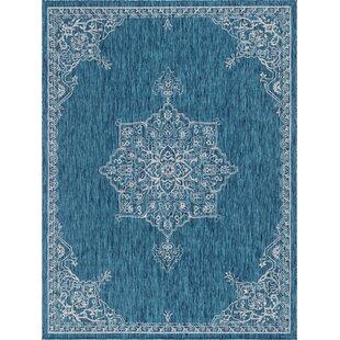 Craighead Blue/Gray Indoor/Outdoor Area Rug