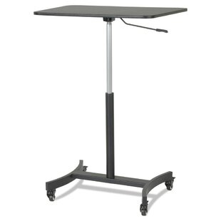 High Rise Mobile Adjustable Standing Desk