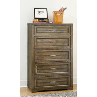 Price Check Logan 5 Drawer Chest by My Home Furnishings Reviews (2019) & Buyer's Guide