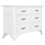 Bermuda 6 Drawer Double Dresser by David Francis Furniture