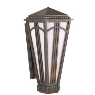 Alcott Hill Petrey 2-Light Outdoor Sconce