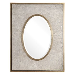 Mercer41 Catalina Aged Oval Accent Mirror