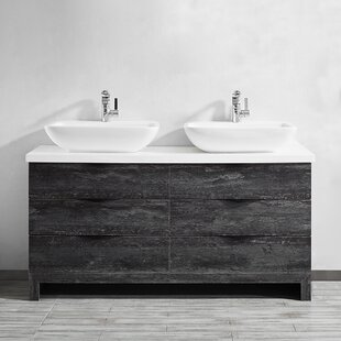 Affordable Kelsey 60 Double Bathroom Vanity Set By Union Rustic