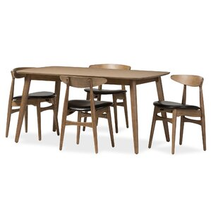 Napoleon 5 Piece Dining Set by Wholesale Interiors