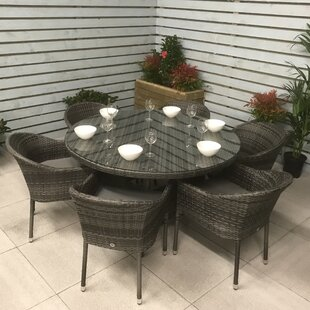 Lilia 6 Seater Dining Set With Cushions Image