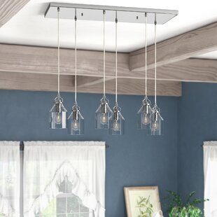 Gammage 6-Light Kitchen Island Pendant by Laurel Foundry Modern Farmhouse