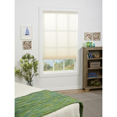 "Symple Stuff Cordless Semi-Sheer Cellular Shade Blind Size: 46"" W x 72"" L, Colour: Champagne"