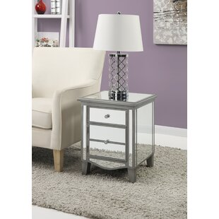 Mirrored End Tables Youll Love Wayfair