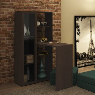 Althea L-Shape Armoire Desk
