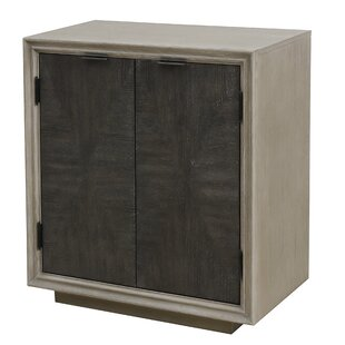 Hoover Duotone Parquet 2 Door Accent Cabinet by Union Rustic