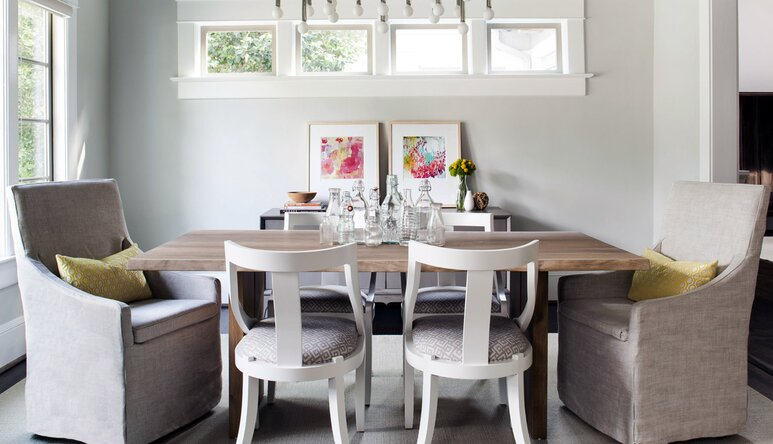 How To Choose A Dining Table Size Wayfairca - How big is a dining room table