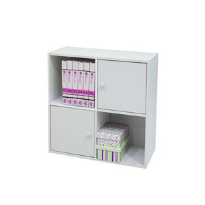 2 Door Cube Unit Bookcase