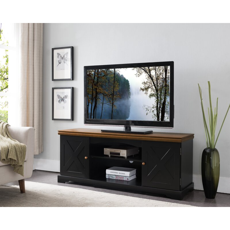 Laurel Foundry Modern Farmhouse Harrietstown Solid Wood TV Stand