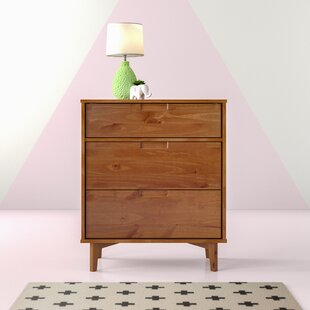 Octave 3 Drawer Chest By Hashtag Home