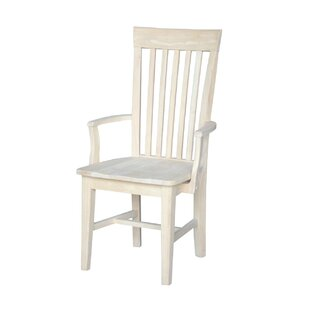 Loon Peak Sevilla Solid Wood Dining Chair