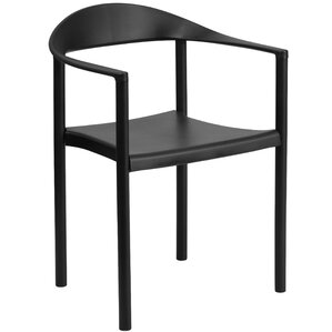 Connally Cafe Stack Arm Chair by Mercury Row