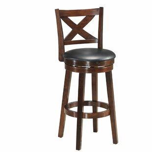 Cardona 29'' Swivel Bar Stool by Alcott Hill