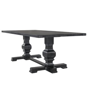 Great choice Glen Ridge Double Pedestal Dining Table By Gracie Oaks