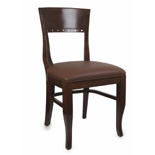 Tymon Dining Chair in Faux Leather (Set of 2)