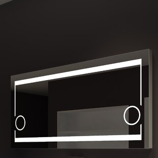 Aurora Illuminated Bathroom / Vanity Wall Mirror By Paris Mirror
