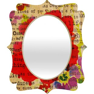 East Urban Home Poppy Poetry 2 Quatrefoil Accent Mirror