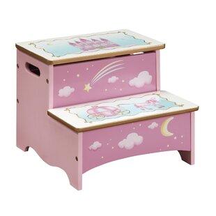 Princess Step Stool with Storage by Guidecraft