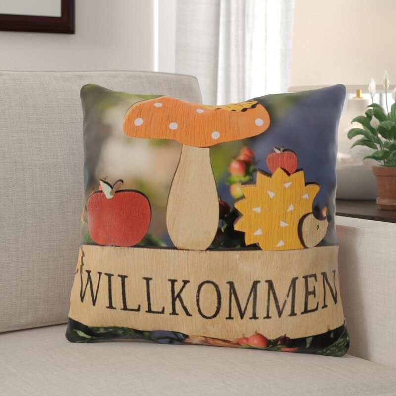 The Holiday Aisle Wesner Autumn Indoor Outdoor Throw Pillow Wayfair