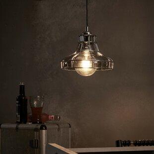 Illusione 1-Light Dome Pendant by VERSANORA