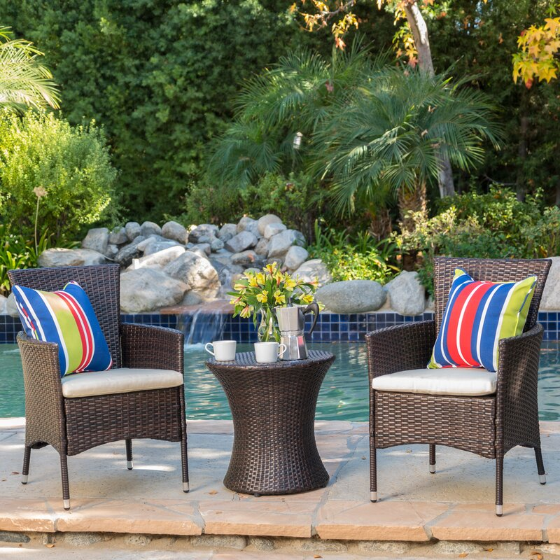 Best-Rated 3-Piece Outdoor Conversation Patio Sets With ...
