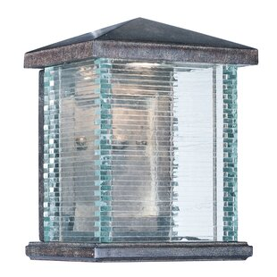 Hungate LED Outdoor Flush Mount By Charlton Home Outdoor Lighting
