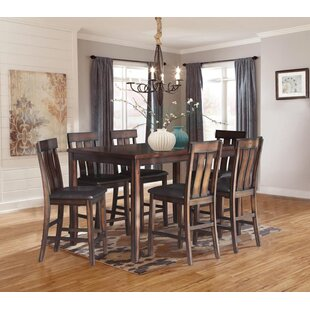 Widman 7 Piece Pub Table Set b..