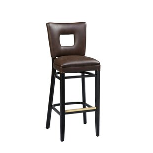 Beechwood Square Open Back Bar Stool