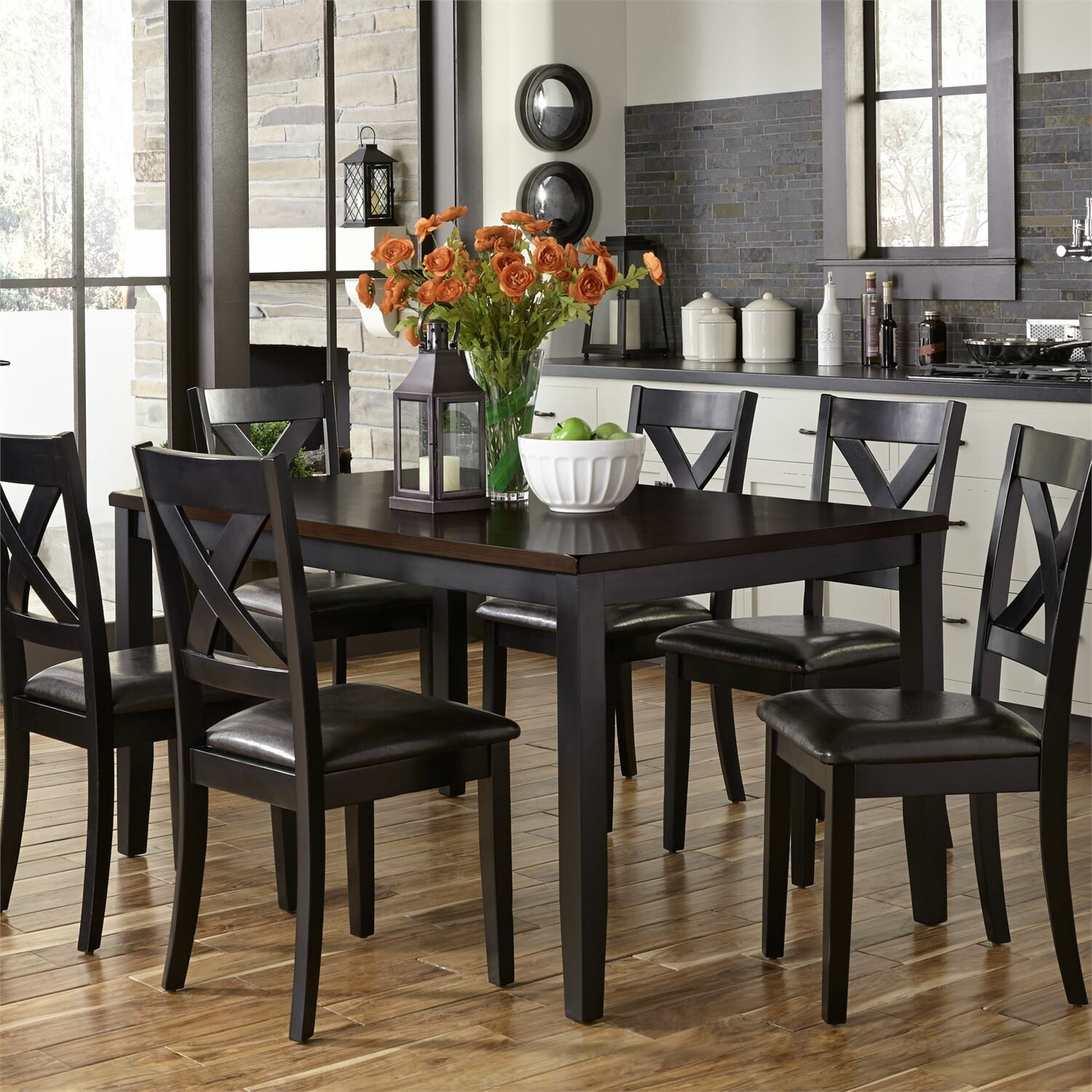 Black Kitchen & Dining Room Sets You'll Love in 2021 | Wayfair
