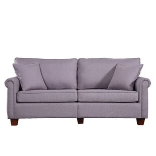 Shop Classic Living Room Linen Fabric Sofa by Madison Home USA