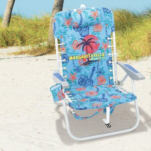 Lace-Up Reclining Beach Chair