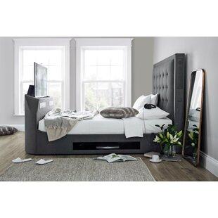 Elvira Upholstered TV Bed By Rosalind Wheeler