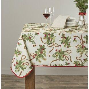 Pullman European Seasonal Christmas Ribbons Tablecloth