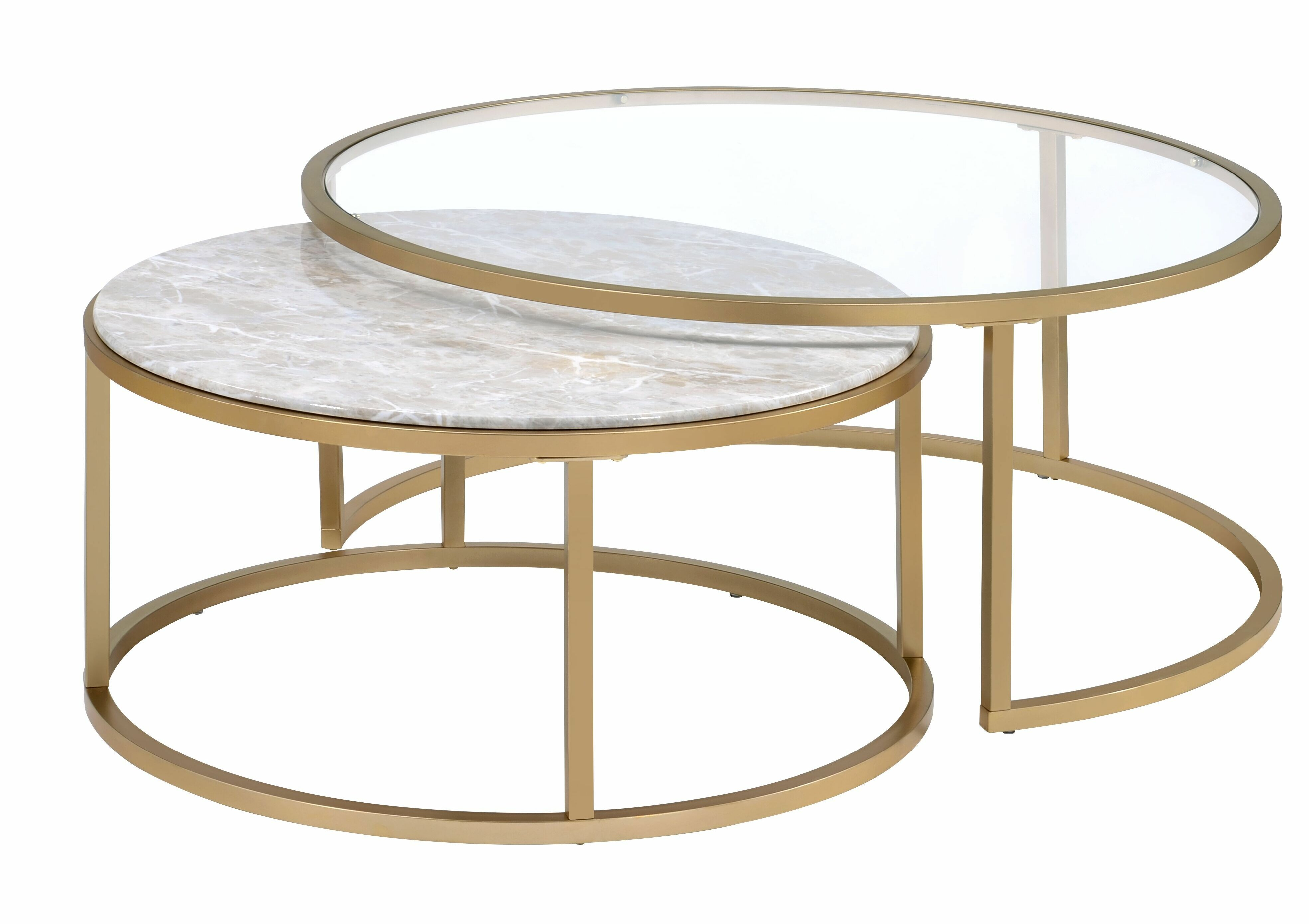 Anyan 2 Piece Coffee Table Set