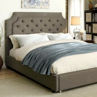 Lisman Contemporary Upholstered Panel Bed by House of Hampton