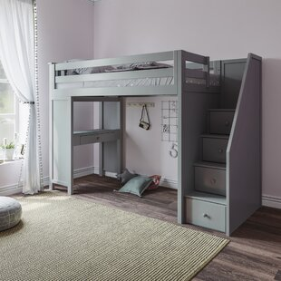 Ayres Twin Bunk Bed with Staircase by