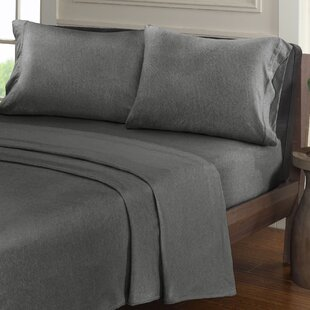 Stepney Solid Color Jersey Knit Sheet Set by Mercury Row Reviews