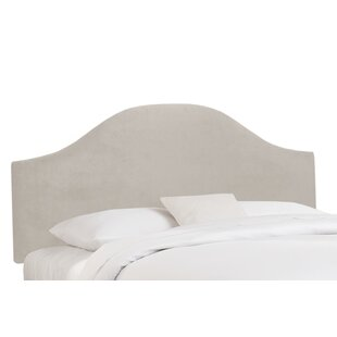 Best Reviews Mystere Upholstered Panel Headboard by Alcott Hill