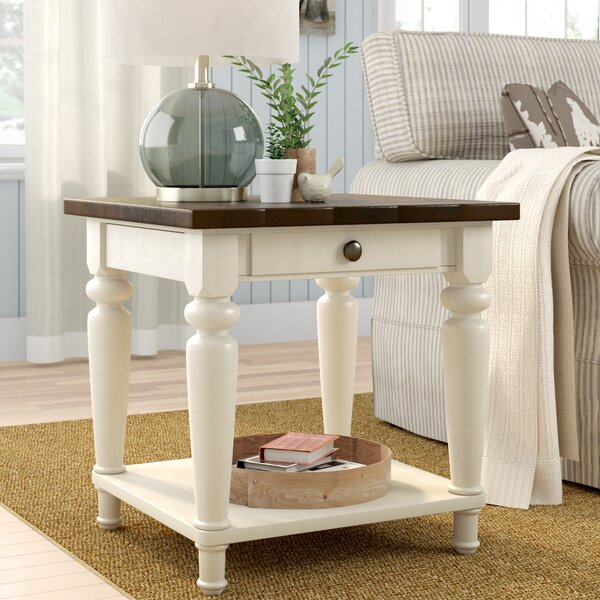 Gracie Oaks Calanna End Table & Reviews by Gracie Oaks